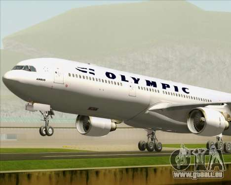 Airbus A330-300 Olympic Airlines pour GTA San Andreas moteur