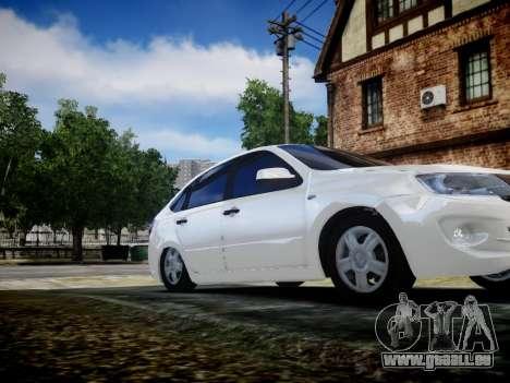 Lada Granta Liftback pour GTA 4 Vue arrière