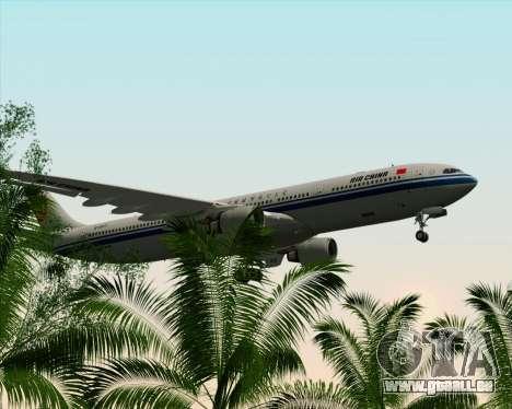 Airbus A330-300 Air China für GTA San Andreas Unteransicht