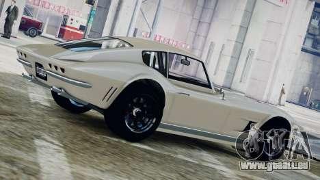GTA 5 Coquette Classic pour GTA 4 est une gauche