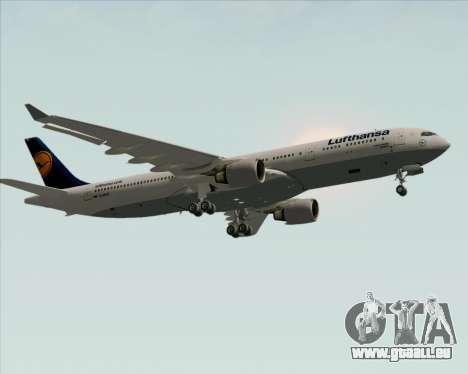 Airbus A330-300 Lufthansa für GTA San Andreas Innenansicht