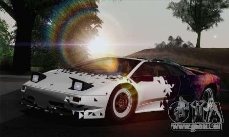 Lamborghini Diablo SV 1995 (HQLM) pour GTA San Andreas roue