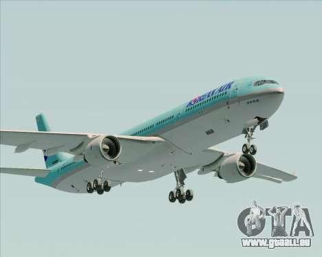 Airbus A330-300 Korean Air für GTA San Andreas Seitenansicht