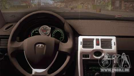 Lada 2170 Piora Turbo pour GTA San Andreas sur la vue arrière gauche