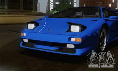 Lamborghini Diablo SV 1995 (ImVehFT) pour GTA San Andreas vue de côté