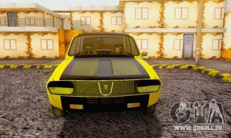 Dacia 1300 Old School pour GTA San Andreas vue de droite
