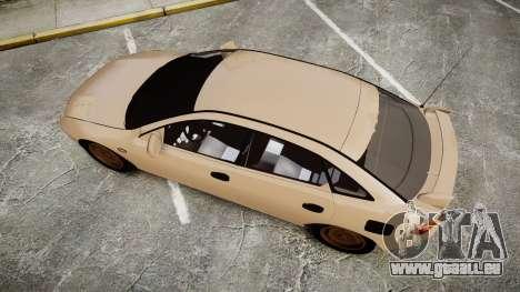 Mazda 323f 1998 pour GTA 4 est un droit