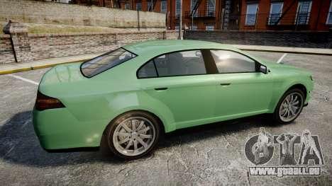 GTA V Vapid Taurus für GTA 4 linke Ansicht