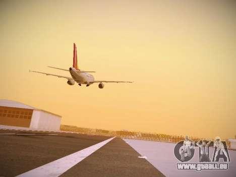 Airbus A319-132 Germanwings pour GTA San Andreas vue de côté