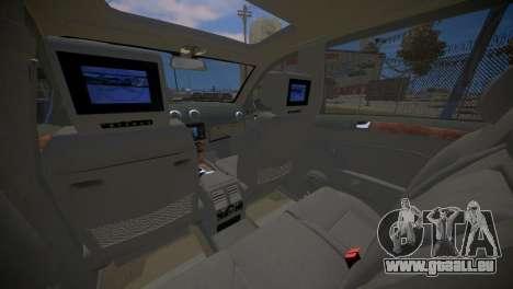 Mercedes-Benz GL450 AMG Police Interceptor 2013 pour GTA 4 est un côté