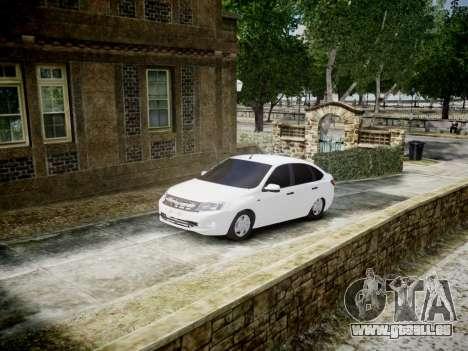 Lada Granta Liftback pour GTA 4