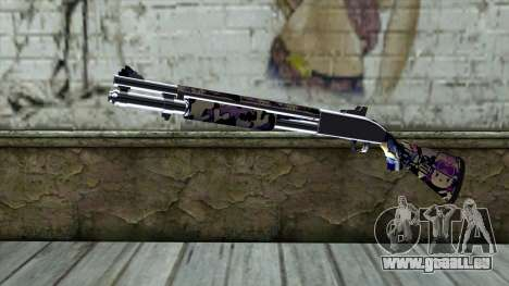 Graffiti Shotgun v3 pour GTA San Andreas