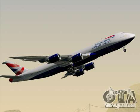 Boeing 747-8 Cargo British Airways World Cargo für GTA San Andreas