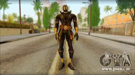 Xmen Alt Deadpool The Game Cable für GTA San Andreas