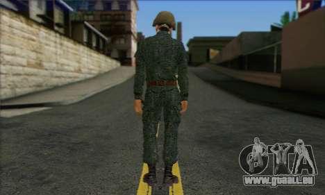 Privé D'Infanterie Motorisée De Troupes. SAR v3 pour GTA San Andreas deuxième écran