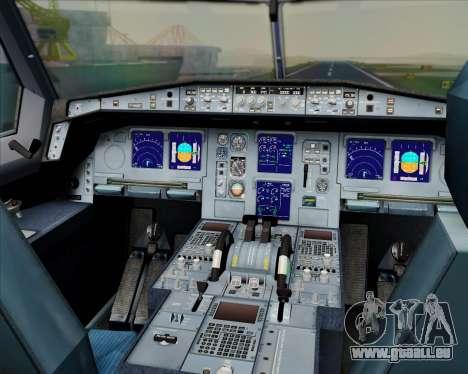 Airbus A330-300 Swiss International Air Lines pour GTA San Andreas salon