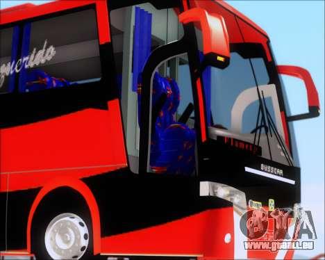 Busscar Elegance 360 C.R.F Flamengo pour GTA San Andreas vue de dessus