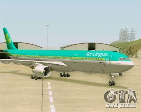 Airbus A330-300 Aer Lingus für GTA San Andreas Seitenansicht