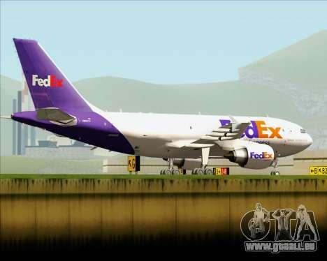 Airbus A310-300 Federal Express für GTA San Andreas Seitenansicht