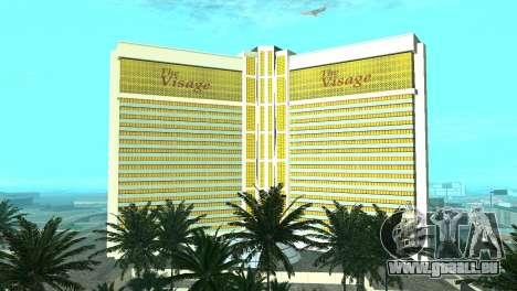 Neue Texturen casino Visage in Las Venturas für GTA San Andreas achten Screenshot