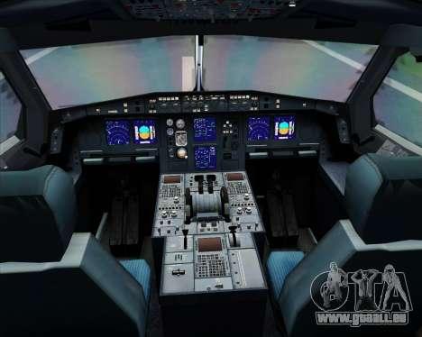 Airbus A340-313 Air Canada pour GTA San Andreas salon