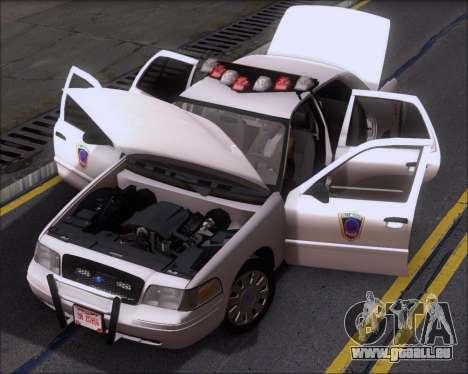 Ford Crown Victoria Tallmadge Battalion Chief 2 pour GTA San Andreas vue de côté