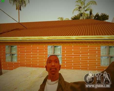 Aktualisiert Haus CJ für GTA San Andreas dritten Screenshot