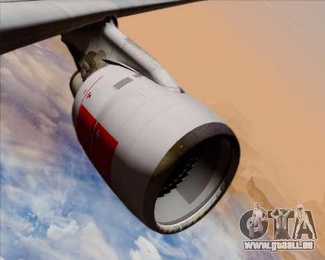 Airbus A330-300 Swiss International Air Lines für GTA San Andreas Motor