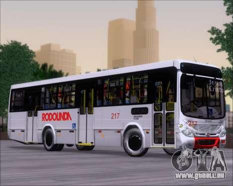 Marcopolo Torino G7 2007 - Volksbus 17-230 EOD pour GTA San Andreas vue intérieure