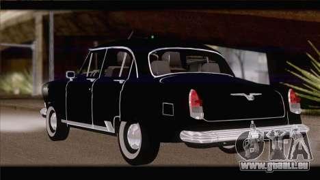 De GAZ à 21 1965 pour GTA San Andreas laissé vue