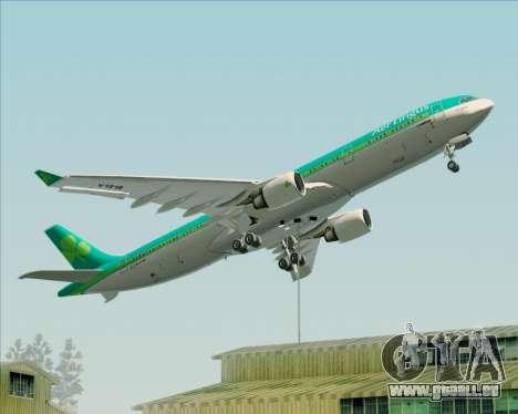Airbus A330-300 Aer Lingus für GTA San Andreas Räder