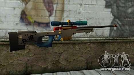 Sniper Rifle from PointBlank v4 für GTA San Andreas zweiten Screenshot