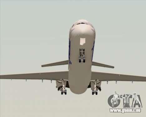 McDonnell Douglas MD-82 Spanair pour GTA San Andreas vue arrière