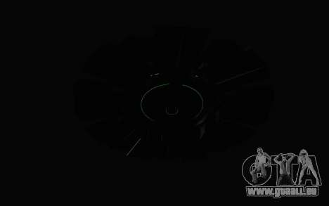 GTA 5 UFO für GTA San Andreas Innenansicht