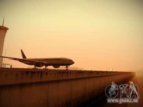 Boeing 777-212ER Transaero Airlines pour GTA San Andreas vue intérieure