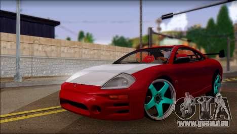 Mitsubishi Eclipse GTS Tuning für GTA San Andreas