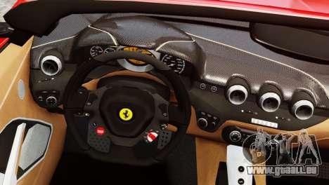 Ferrari F12 Roadster für GTA 4 hinten links Ansicht