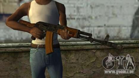 TheCrazyGamer AK74 pour GTA San Andreas troisième écran