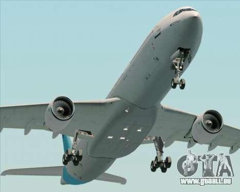 Airbus A330-300 Air Inter für GTA San Andreas Rückansicht