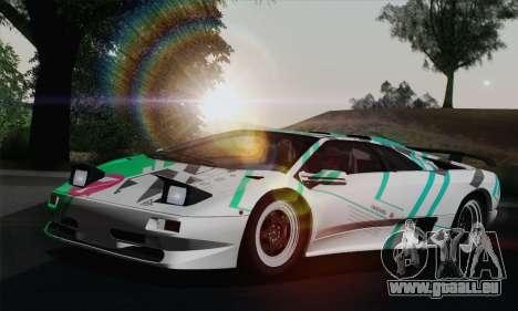 Lamborghini Diablo SV 1995 (HQLM) pour GTA San Andreas