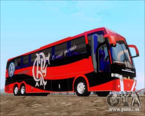 Busscar Elegance 360 C.R.F Flamengo pour GTA San Andreas vue intérieure