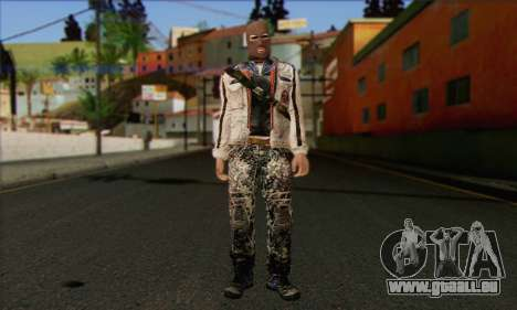 Arctic Avenger (Tactical Intervention) v2 pour GTA San Andreas