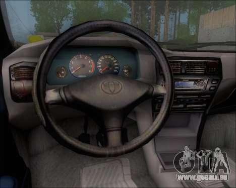 Toyota Corolla 1.6 für GTA San Andreas Innenansicht
