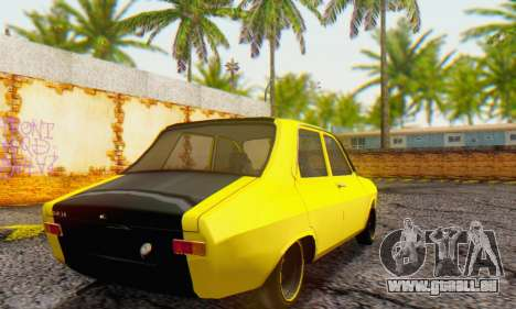 Dacia 1300 Old School für GTA San Andreas zurück linke Ansicht