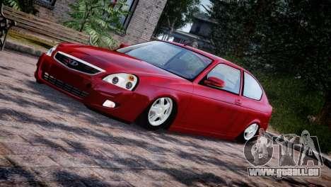 Lada Priora Coupe pour GTA 4 est un côté