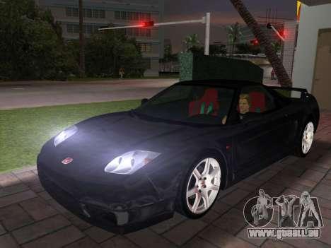 Honda NSX-R pour GTA Vice City vue latérale