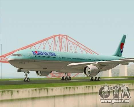 Airbus A330-300 Korean Air für GTA San Andreas linke Ansicht