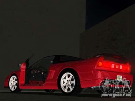 Honda NSX-R pour une vue GTA Vice City d'en haut