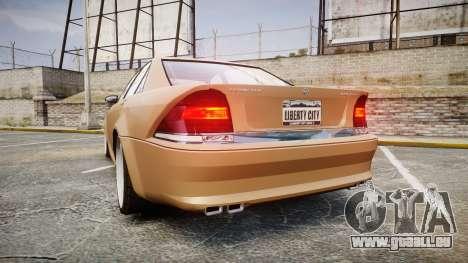 Schafter AMG pour GTA 4 Vue arrière de la gauche