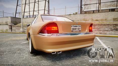 Schafter AMG für GTA 4 hinten links Ansicht